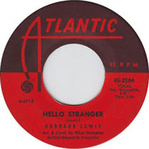 """Hello Stranger"" by Barbara Lewis, sixties doo wop and R&B"