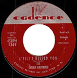 45 single of (Till) I Kissed You by The Everly Brothers