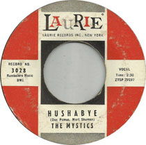 Single: Hushabye by The Mystics
