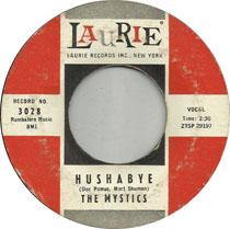 Single: Hushabye by The Mystics