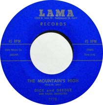 The Mountain's High by Dick and Dee Dee
