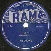 """Gee"" by The Crows"