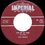 """""""It's Up to You"""" by Ricky Nelson"""