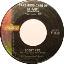 """Take Good Care of My Baby"" by Bobby Vee"