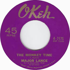 """The Monkey Time"" by Major Lance"
