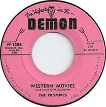"""""""Western Movies"""" by The Olympics"""