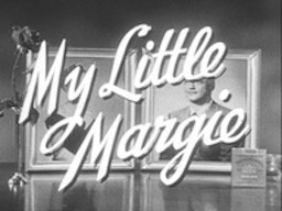 """My Little Margie"" tv series title card"