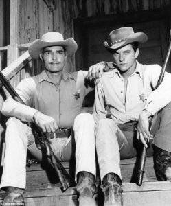 The Lawman starring John Russell and Peter Brown