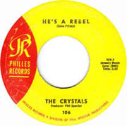 """""""He's a Rebel"""" by The Crystals"""