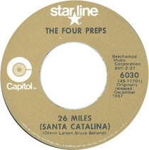 """""""26 Miles (Santa Catalina)"""" by The Four Preps"""