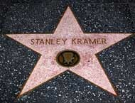 Stanley Kramer's star on the Hollywood Walk of Fame
