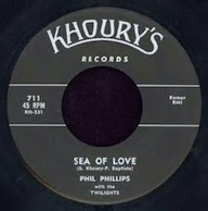 """""""Sea of Love"""" by Phil Phillips"""