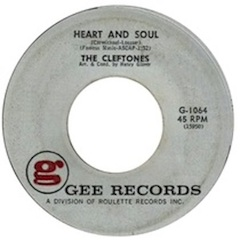 """""""Heart and Soul"""" by The Cleftones"""
