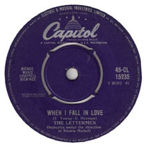 """When I Fall in Love"" by The Lettermen"