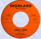 """Angel Baby"" by Rosie & The Originals"