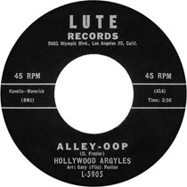"""""""Alley Oop"""" by The Hollywood Argyles"""
