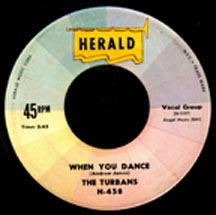 When You Dance by The Turbans great doo wop music