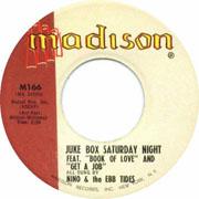 """Juke Box Saturday Night"" by Nino and doo wop group The Ebb Tides"