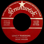 """One of the great golden oldies, """"Lonely Teardrops"""" by Jackie Wilson"""