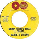 """""""Money (That's What I Want)"""" by Barrett Strong"""