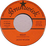 """The pop song """"Night"""" by Jackie Wilson"""