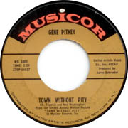 Gene Pitney on Musicor Town Without Pity