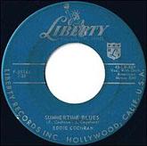 """Summertime Blues"" by Eddie Cochran"
