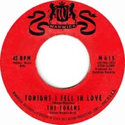 """Tonight I Fell in Love"" by The Tokens"