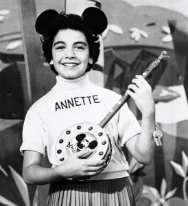 Annette Funciello on The MIckey Mouse Club