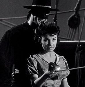 Annette on the Zorro TV series