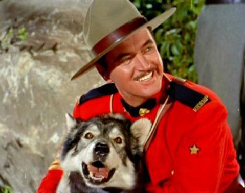 Sergeant Preston of the Yukon and King, his dog