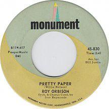 "Roy Orbison ""Pretty Paper"""