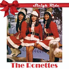 """""""Sleigh Ride"""" by The Ronettes"""
