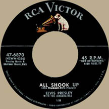 We begin our 1957 with All Shook Up by Elvis Presley