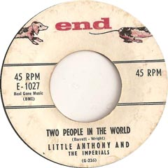little anthony and the imperials Two Peole in the World
