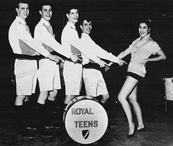 The Royal Teens Short Shorts