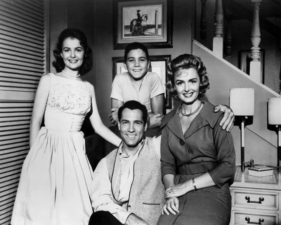 The main cast for The Donna Reed Show