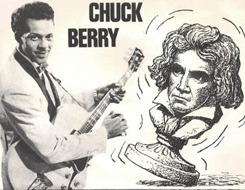 Chuck Berry roll...Chuck Berry