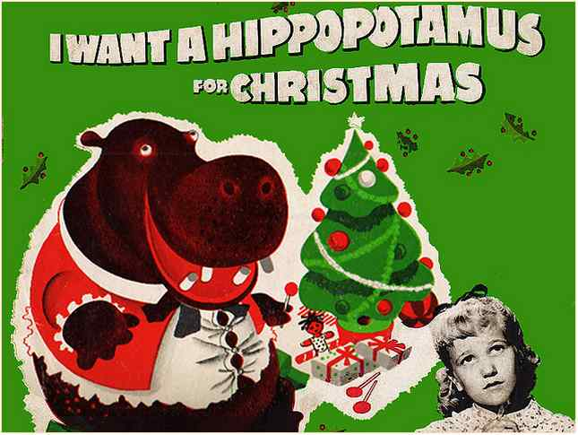 Gayla Peevey I Want a Hippopotamus for Christmas