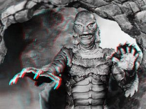 3d Photo of Creature from the Black Lagoon